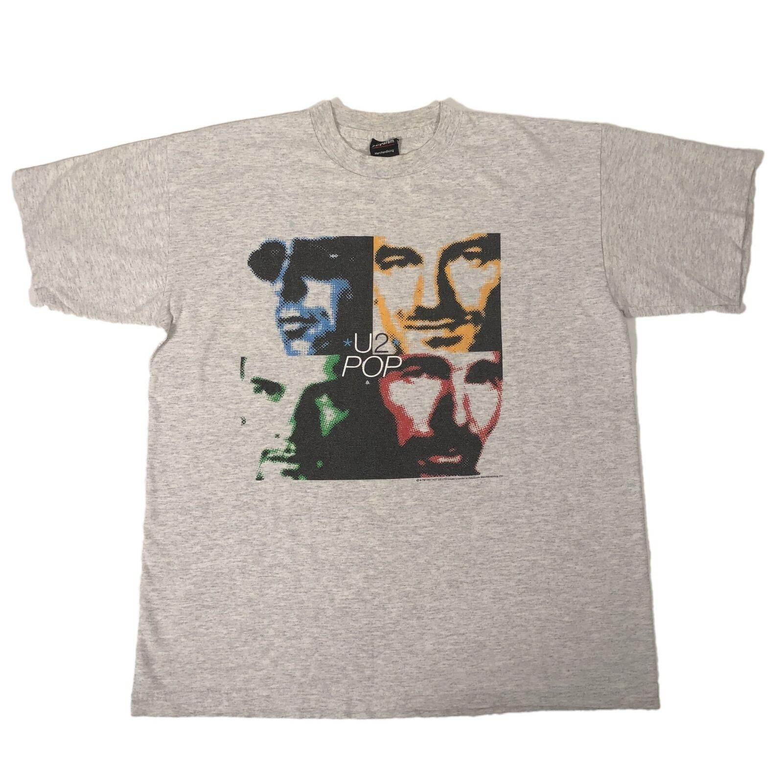 Vintage U2 Pop T Shirt Coldplay Árbol de Joshua Actchung bebé