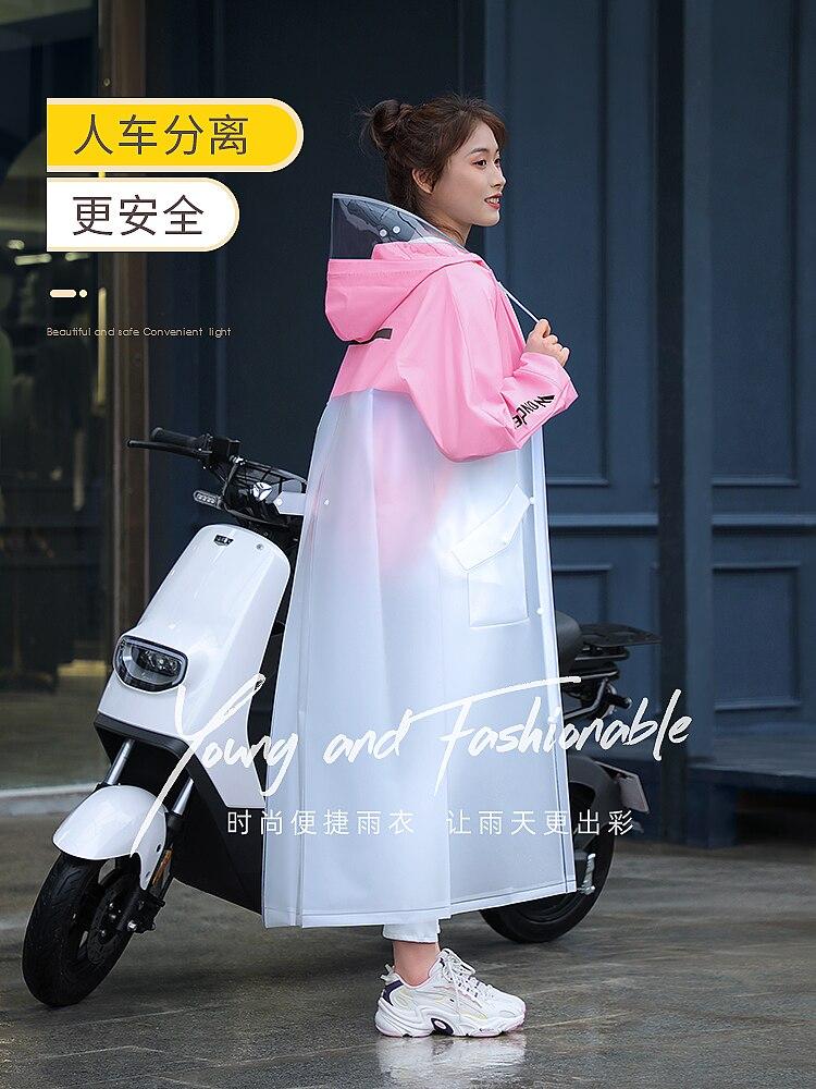 Bicycle Hiking Travel Raincoat Women Fashion Outdoor Raincoat Foldable Kids Waterproof Travel Girl Regenjacke Home Garden AG50YY enlarge