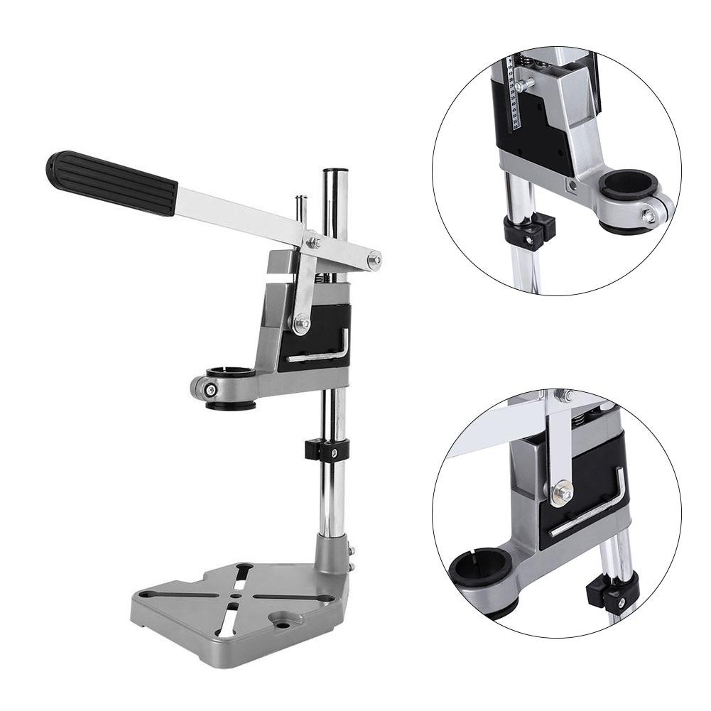 Bench Drill Press Stand Clamp Base Electric Drill Bracket Drilling Holder Grinder Rack Stand Bench Press Stand Clamp Grinder enlarge