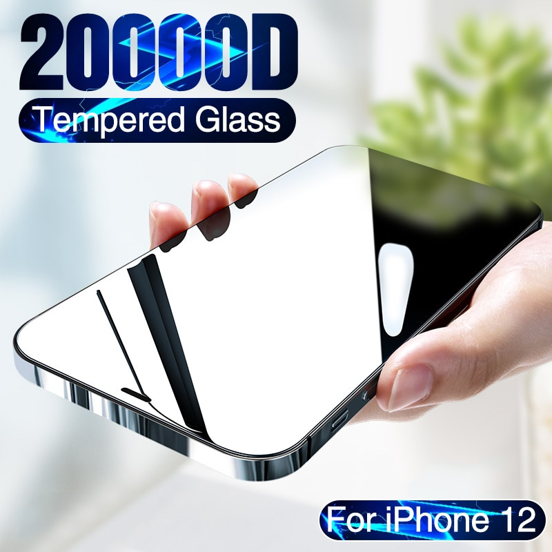 20000D Full Cover Tempered Glass For iPhone 12 mini Screen Protector For iPhone 12 Pro Max Screen Pr