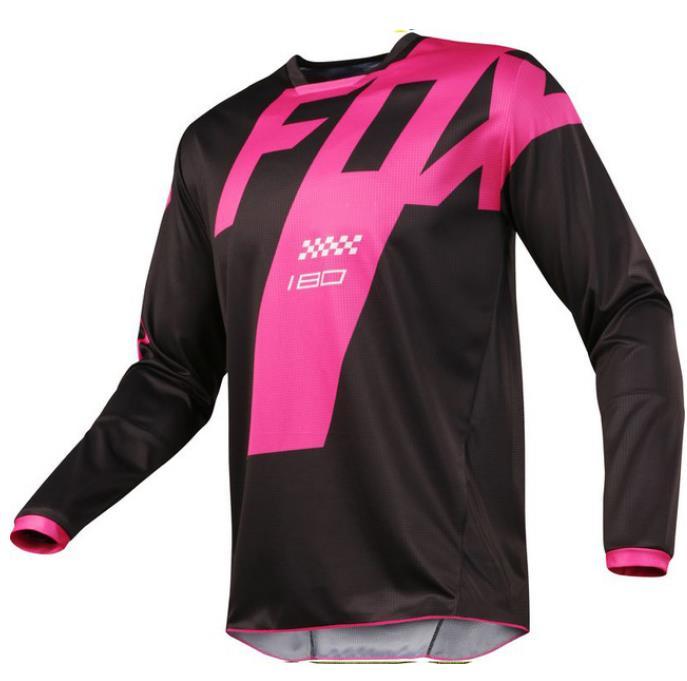 Camiseta De la motocicleta de montaña, equipo para descenso, huup, FOX, MTB,...