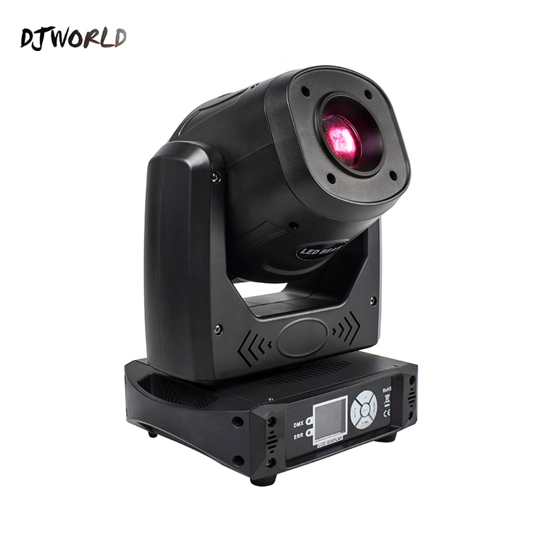 Djworld-مصباح رأس متحرك 100 واط مع 7 أنماط ديناميكية و 6 أوضاع ثابتة ، إضاءة مسرح لـ Dj Disco Party contbar ، DMX 512