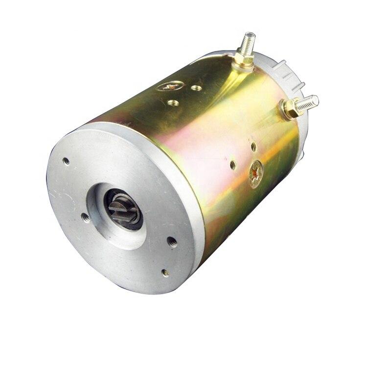 مضخة هيدروليكية وبسعر محرك 12 فولت/24 فولت ، محرك تيار مباشر كهربائي مصقول