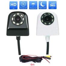 Ensemble de caméras de recul pour voitures, grand Angle de 170 degrés, avec 8 lumière LED CCD capteur dimage, caméra de stationnement avec câble