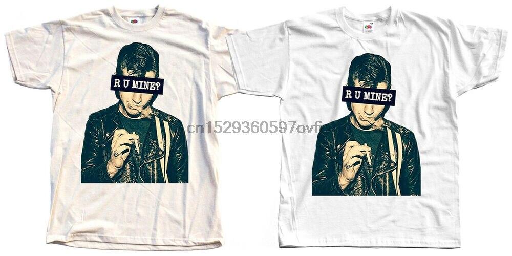 Camiseta (blanca) con póster de Arctic Monkeys Alex Turner a u mine, S-5XL