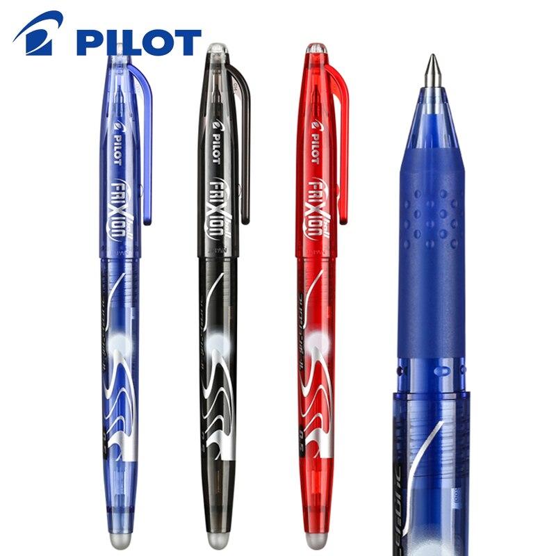 8 pçs/lote marca piloto caneta frixion LFB-20EF borracha gel tinta caneta ponta média 0.5mm piloto lfb-20 ef LFB-20EF caneta