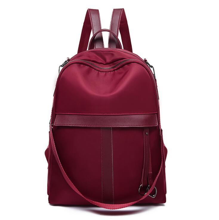 2021 حقيبة ظهر نسائية موضة بو الجلود الترفيه حقيبة ظهر للسفر حقيبة مدرسية عالية الجودة