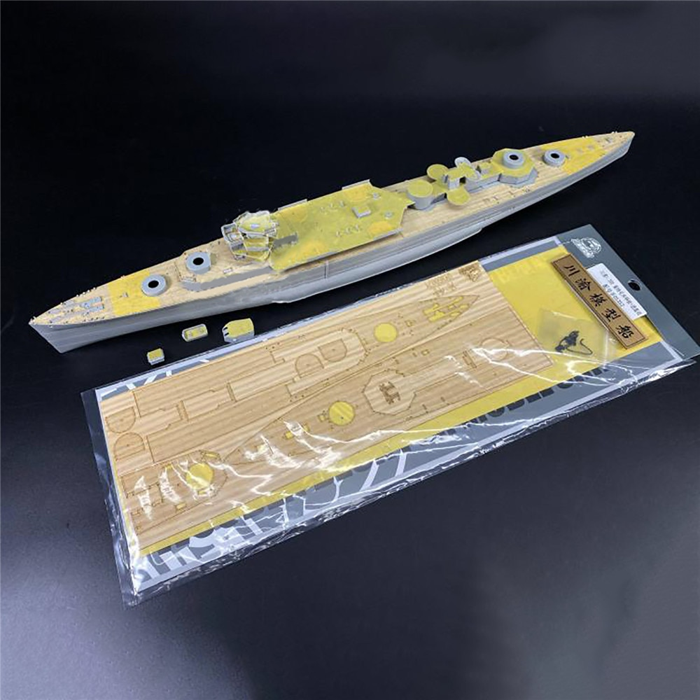 Plataforma de madeira cy350071 âncora corrente masking folha/barris metal para 1/350 trompetista 05352 hms kent battleship modelo acessórios
