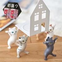 5 pcs creative cartoon cat statue figurine micro landscape home decor art crafts desktop decoration ornament birthday gift