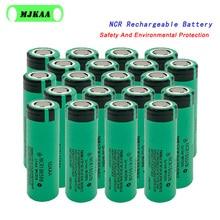 MJKAA 16-20 pièces/lot Original NCR 18650 3.7V 3400mAh NCR18650B Li-ion batterie Rechargeable