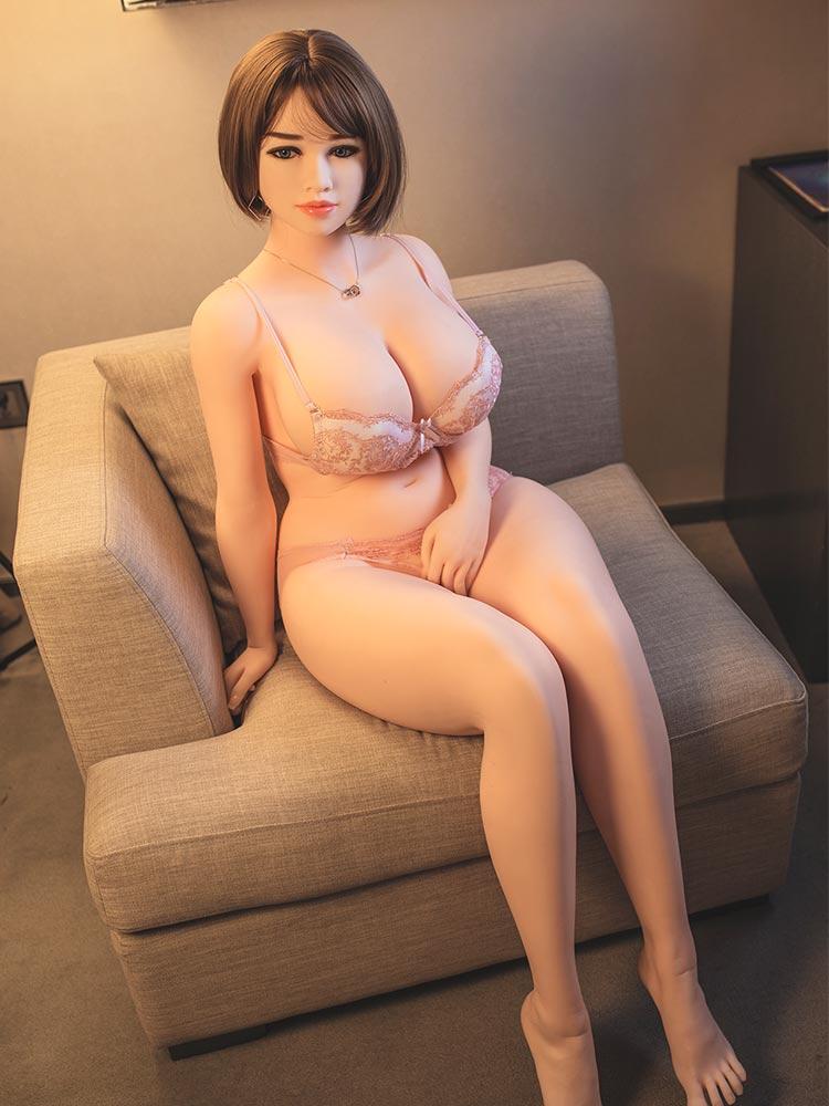H6dce80b976aa43ef8ddfbf319c7563fbX Hanidoll 162cm muñeca del sexo para los hombres realista Vagina coño pecho gordo trasero adultos juguetes sexuales para los hombres Real TPE muñeca de amor