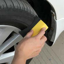 2Pcs Auto Car Wheel Tyre Cleaning Dressing Waxing Polishing Brush Sponge Tool Tires Cleaning brush car wash sponge