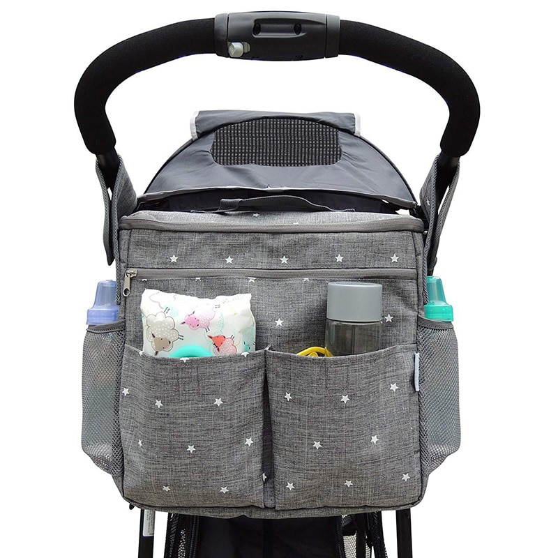 Large capacity Baby Stroller Bag Mom Outdoor Travel Backpack Maternity Organizer Bag Nappy Diaper Bags Stroller Accessories mummy fashion large capacity stroller diaper backpack bag mom nappy multifunctional organizer bags maternity travel backpack