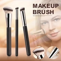 3pcs makeup brush foundation brush and concealer brush for creating smooth finish makeup brush cosmetic tool for women makeup