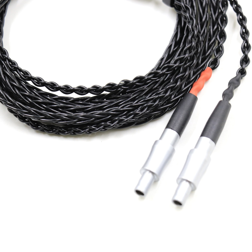 Thouliess HIFI 7n Single Crystal Silver for HD800 HD800s HD820 HD820s Enigma Acoustics Dharma D1000 Headphone Upgrade Cable enlarge