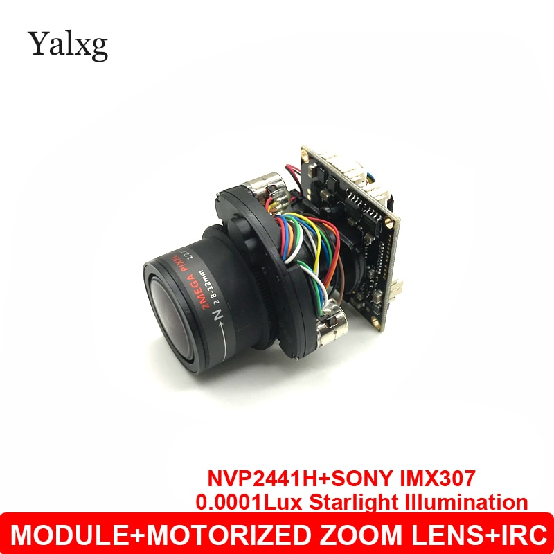 1080P AHD/CVI/TVI/CVBS 4 en 1 cámara de vigilancia para el enfoque Manual de enfoque automático de 2MP Starlight Sony 307 módulo Chip con OSD