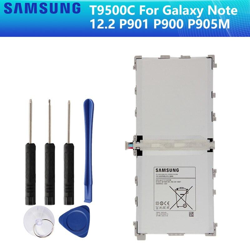 SAMSUNG batería Original T9500K T9500C T9500E T9500U para SAMSUNG Galaxy Note 12,2 P900 P901 P905 SM-T900 SM-P900 SM-P905 9500mAh