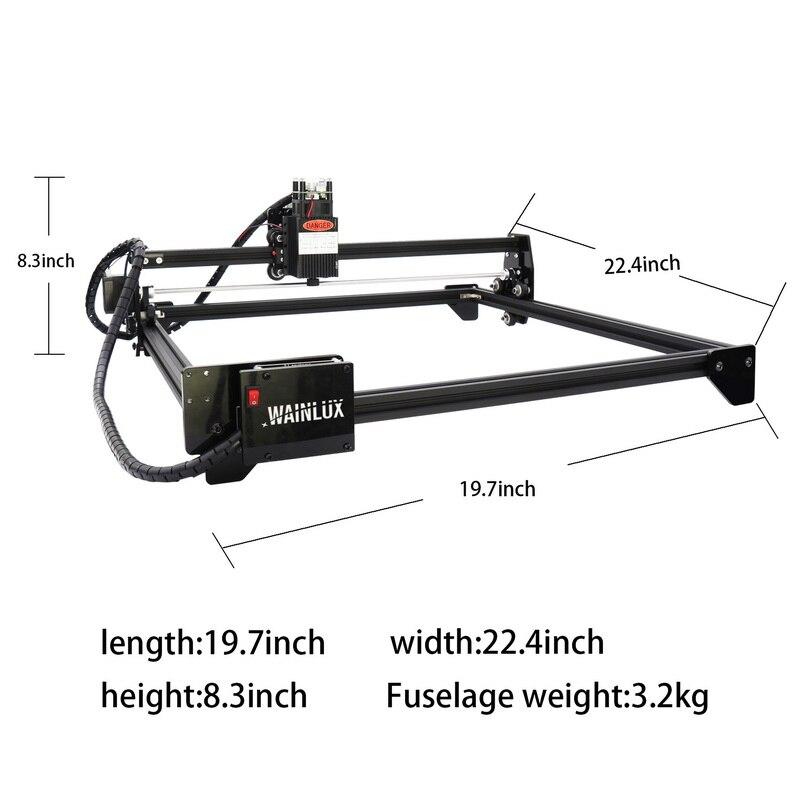 Macchina per incisione laser CNC 7000/20000 mw, macchina da taglio - Attrezzature per la lavorazione del legno - Fotografia 4