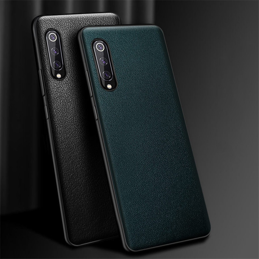 Genuine Leather mobile phone case for Xiaomi mi note 10/Xiaomi mi note 10 pro 360 Full protective cover