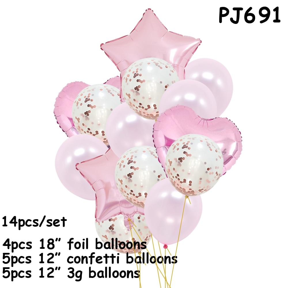 Globos de confeti para fiesta de cumpleaños de chico, decoración de cumpleaños, 1 año de fiesta, fiesta de globos, globo para bebés noivado