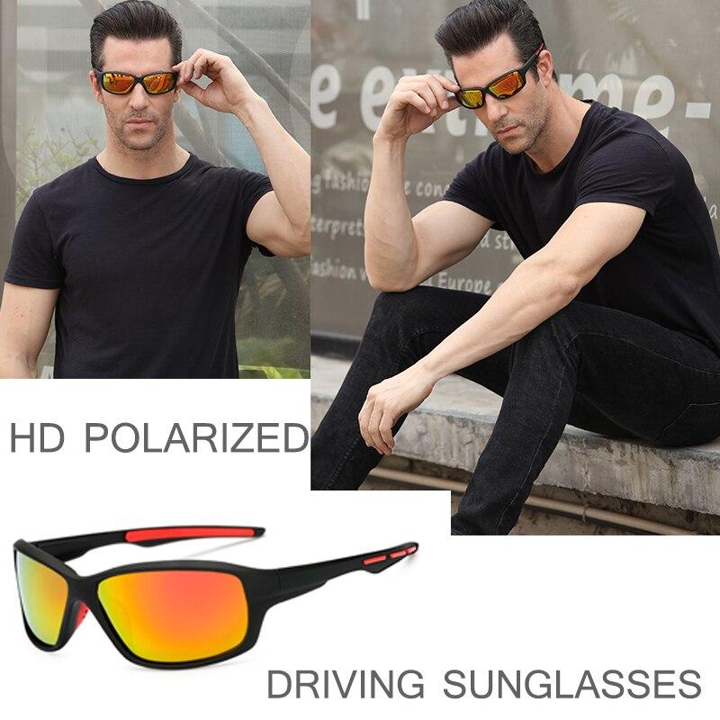 2020 Polarized Men Sunglasses Fashion Gradient Male Driving Glass UV400 Polarised Goggle Style Eyewe