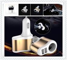3.1A المزدوج USB شاحن سيارة 12-24 فولت ولاعة السجائر المقبس محول الطاقة لمرسيدس بنز C450 C350 A45 S550 S500 IAA