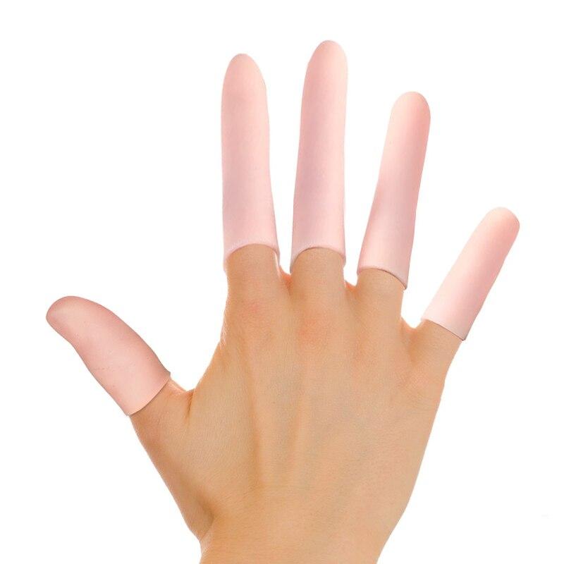 5Pcs Silicone Gel Toe Finger Protector Tubes Separator  Callus Bunion Corrector Corns Blisters Pain