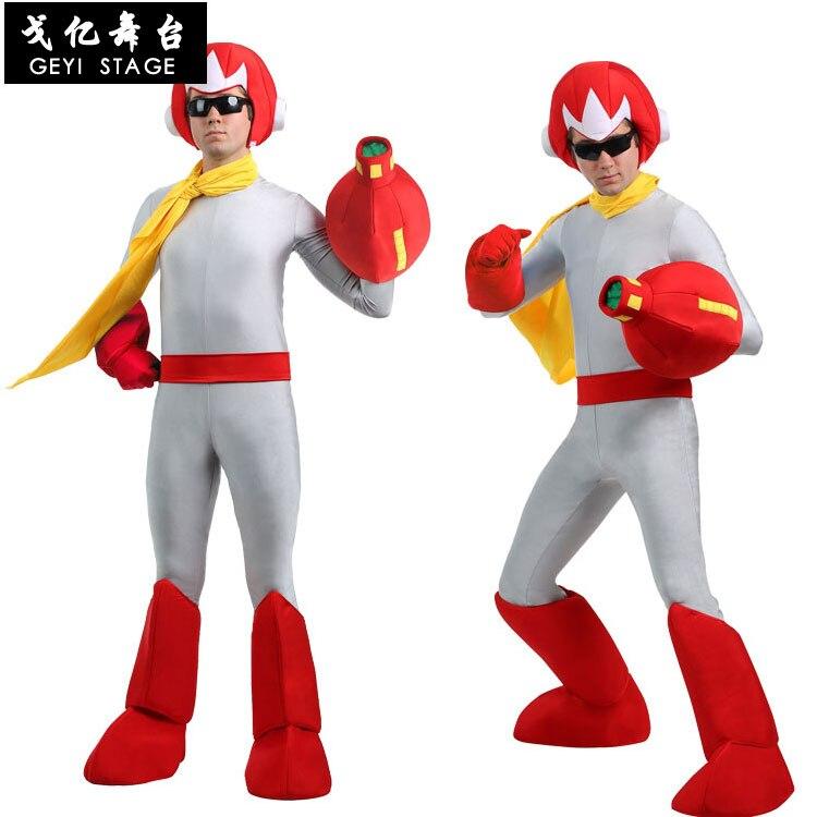 2020 adulto potência superman traje masculino bruce engraçado super-herói trovão vermelho ranger festa cosplay halloween carnaval fantasia vestido