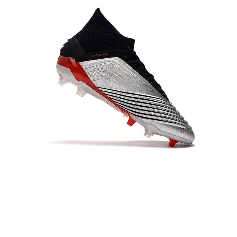 Superventas, lo más nuevo de 2019, botas de fútbol Predator 19,1 FG, zapatillas de fútbol para hombres
