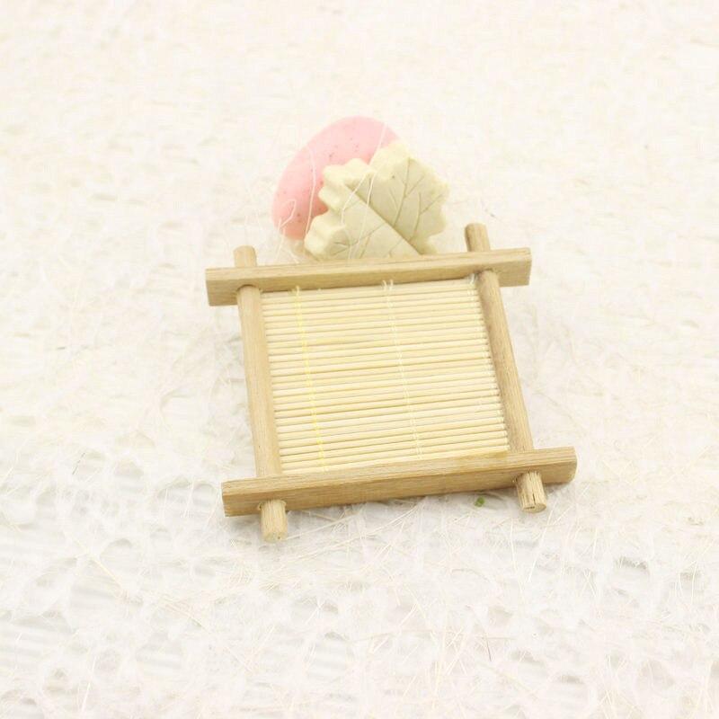 Baño ducha bambú Natural madera baño ducha jabón bandeja plato de almacenamiento placa nuevo