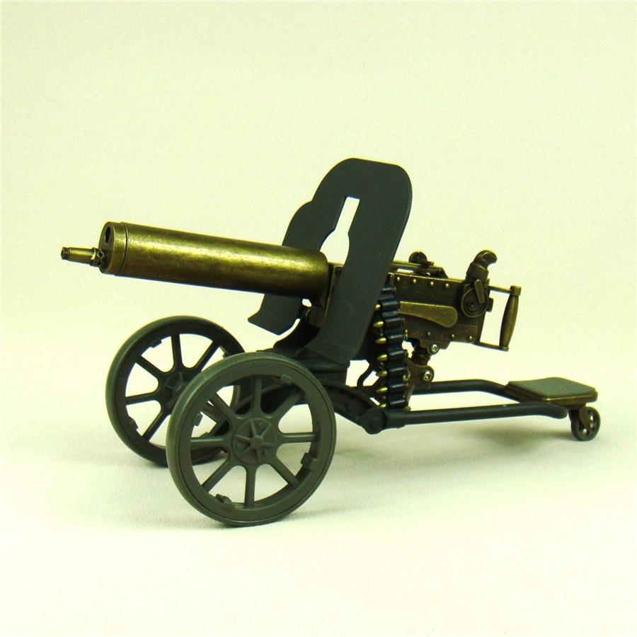 [Novedad] maquinilla Maxim a escala modelo Diecast decoración de la Primera Guerra Mundial adorno artesanal para colección de arte regalo de recuerdo