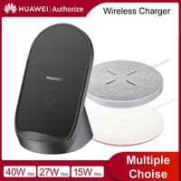 Huawei Wireless Charger SuperCharge Wireless 15W 27W 40W Charger  For Huawei Mate 30 Pro iPhone 12 iPhone11 Samsung S12