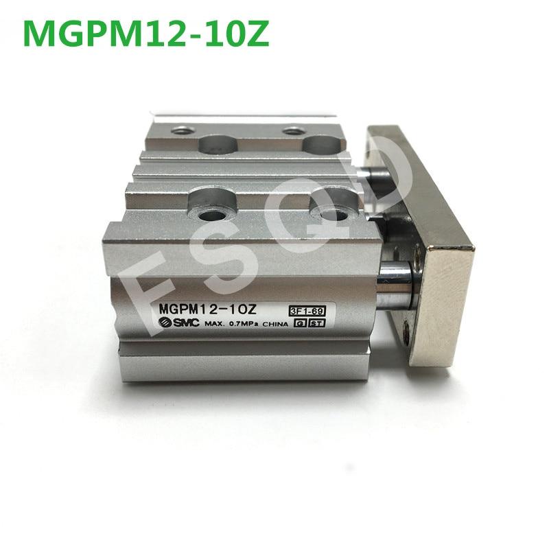 MGPM12-10Z/20Z/25Z MGPM12-10A/20A/25A FSQD SMC cilindro de guía compacta delgada de tres cilindro de eje con rod cilindro MGPM serie