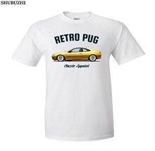 Nouveau haute qualité shubuzhi manches courtes français classique voiture Fans 406 Coupe t-shirt. Voiture classique. Modifié. Pininfarina. T-shirts