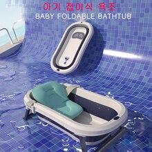 Baignoire baril pliable pour bébé   Baignoire pour enfants, bassin de bain peut sasseoir, antidérapant, température épaisse perçue, baignoire de ménage