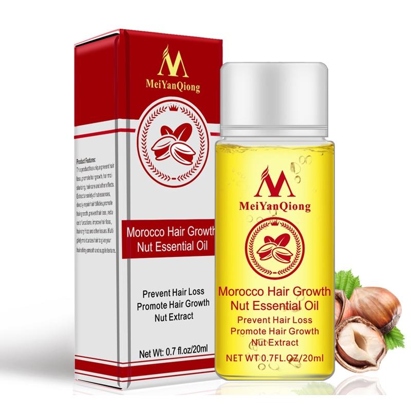 20ml Nut Hair Care Growth Liquid Hair Nourishing Care Serum Essence Hair Growth Prevention Hair Loss