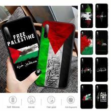 Palestine Flag Phone Case For Huawei Y6 Y7 Y9 Prime 2019 Y9s Mate 10 20 40 Pro Lite Nova 5t Silicone