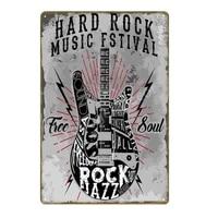 calssic retro jam blues pop tin signs music vintage metal plaque fstival rock jazz wall art poster for bar pub club decor yi 133