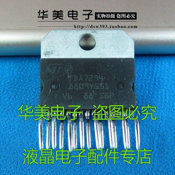 ¡Entrega Gratuita! TDA7294 importación ST fidelidad AMPLIFICADOR DE POTENCIA DE audio IC...