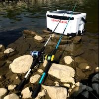 GHOTDA casting spinning fishing rod 3-21g lure weight baitcasting fishing rod travel lure