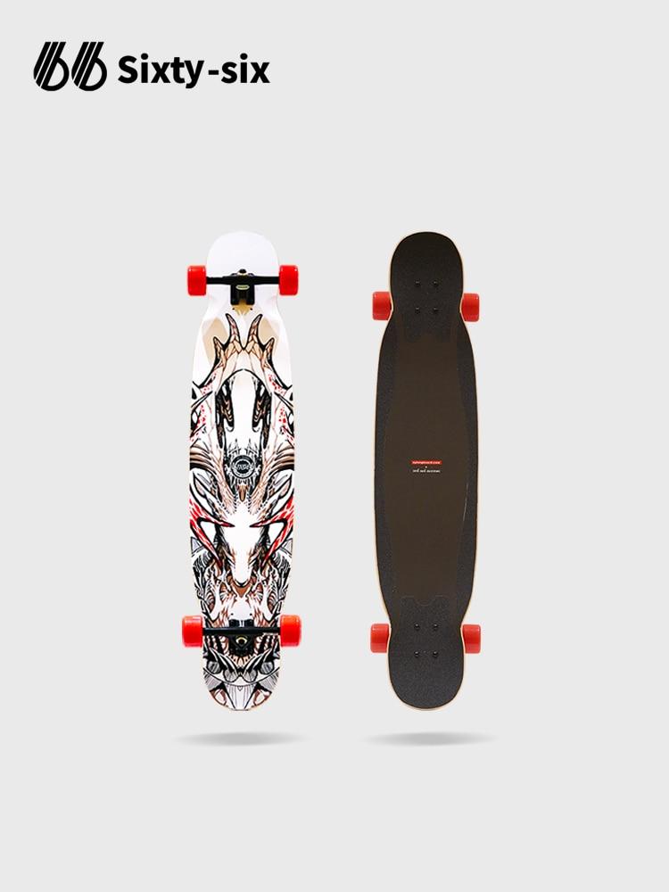 Professional Longboard Skateboard Complete Surfskate Deck Dancing Skateboard Street Brushing Gyroroue Fitness Equipment BI50SB
