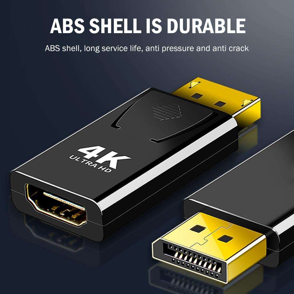 Displayport-juegos de convertidor compatible con DP a HDMI, accesorios de ordenador doméstico...