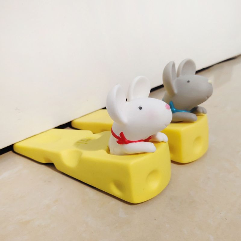 Anti-pinch Safety Baby Silicone Door Stop Security Card Door Stops Silicone Door Stopper Holder Safety Toys For Children Baby