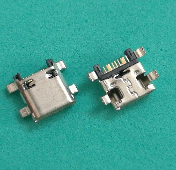 500 unids/lote Micro USB de carga de conector de puerto de cargador para Samsung Galaxy Grand Prime G530 G531 G7102 G7106 s7582 G355