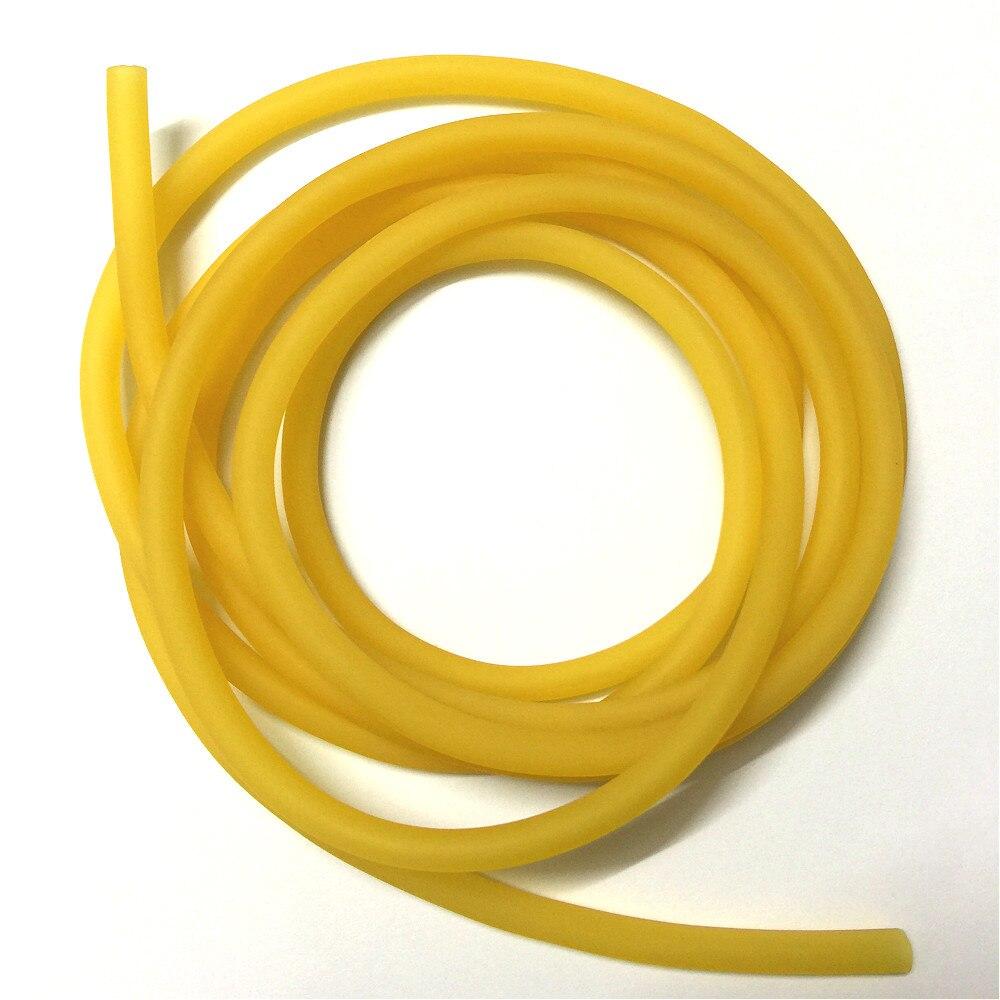 Tubo de látex, correas de torniquete, goma, banda con tubos, tubo de conexión, venas de presión, cinturón, manguera elástica especial para Honda OD 6mm ID 4mm 10M