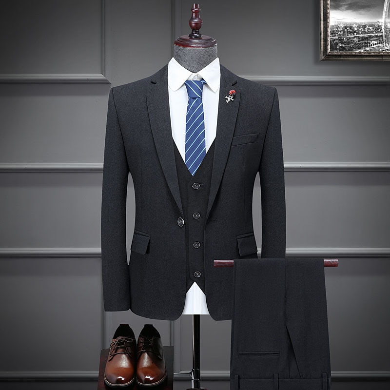 2021 spring new suits, youth professional suits, three-piece wedding suits, men's suits,mens suits 3 piece suits
