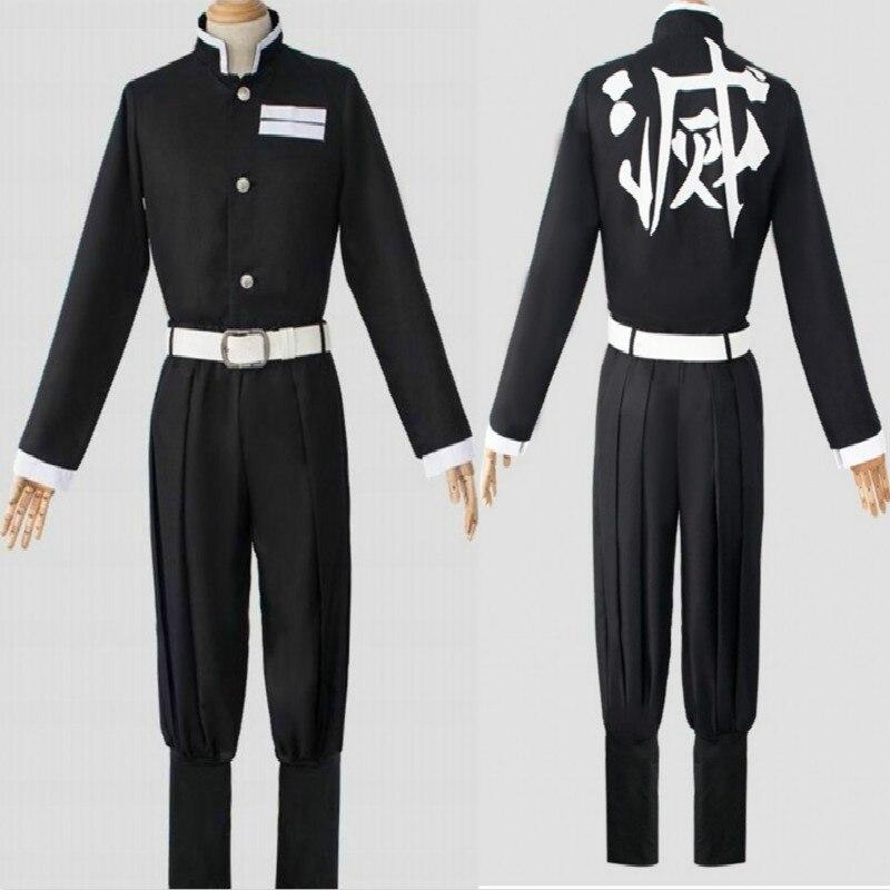 Комплект унисекс для косплея по мотивам аниме, униформа для мужчин и женщин, однотонный, для Хэллоуина, демона, убийцы, лезвия, демона, убийцы...