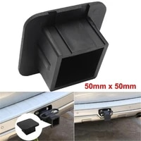 2 inch trailer hitch cover plug cap rubber fits 2 inch receivers for toyota jeep