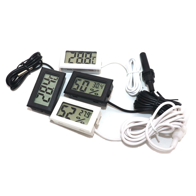 Mini Digital LCD Thermometer Indoor Convenient Temperature Sensor Humidity Meter Hygrometer Gauge