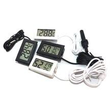 Mini termometro LCD digitale comodo sensore di temperatura interno misuratore di umidità misuratore di igrometro